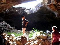 アナ・テ・パフは洞窟遺跡