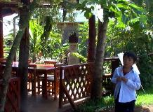 ハンガロア村のレストラン