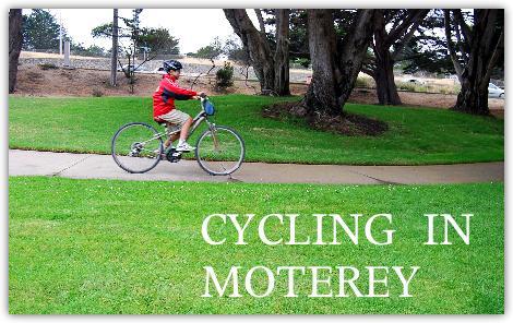 自転車に乗るカイ