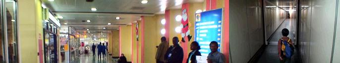 ナイロビ空港のターミナル