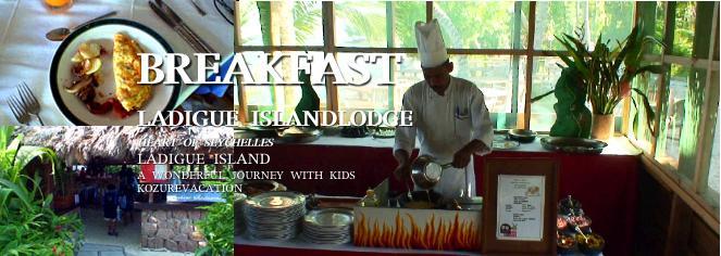 朝食レストランのオムレツコーナー