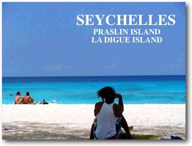 セイシェル・ラディーグ島のビーチ