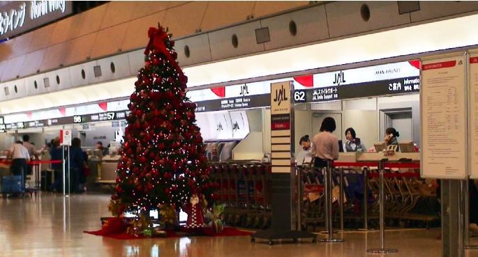 羽田空港から関西空港へ