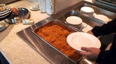 ラウンジの料理