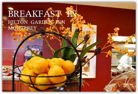朝食レストランの入り口