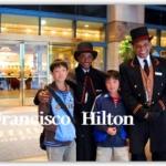 子連れ宿泊した サンフランシスコ・ヒルトン・ホテル