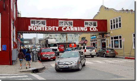 モントレー子連れ観光の様子