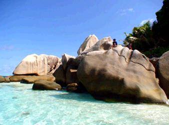 ココ島のビーチ