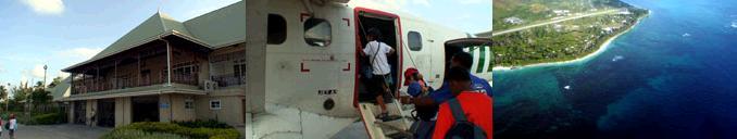 プララン島からマヘ島へ移動する