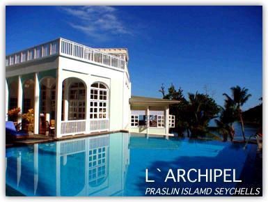 ラルシペル プララン島のホテル