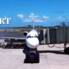 カウアイ・リフェ空港に到着