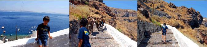 マノラス村への登山道
