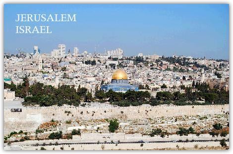 岩のドームはイスラム教の聖地となっている