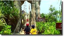 シンガポールのセントーサ島にあるユーラシア大陸最南端の地