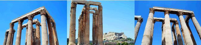 コリント式の石柱