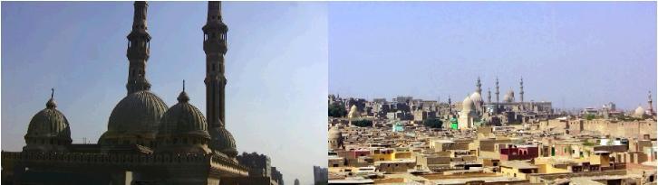 エジプトのイスラムモスク
