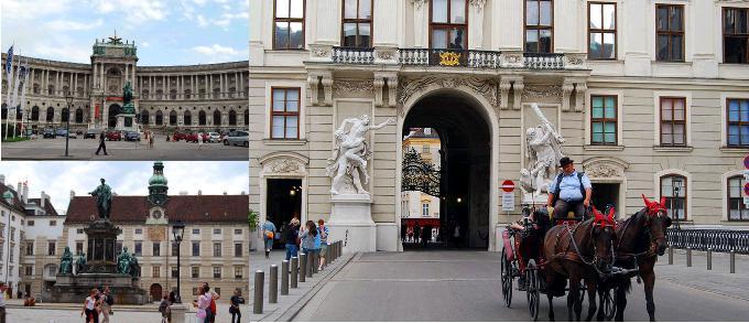 新王宮、王宮の中庭