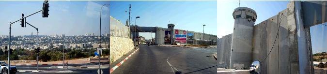 イスラエルとパレスチナの国境の壁