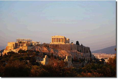 アクロポリスとパルテノン神殿
