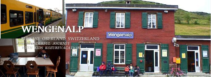 ウェンゲンアルプ駅の写真