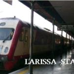 国鉄ラリッサ駅