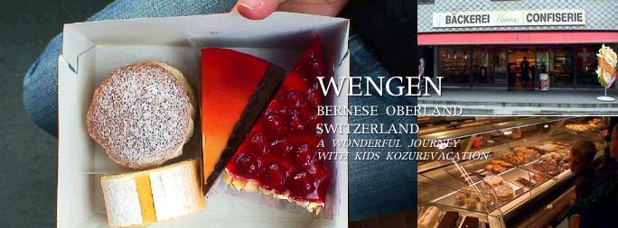 ウェンゲンで買ったケーキ