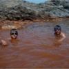 おひょ〜源泉かけ流し!サントリーニ島海中天然露天温泉