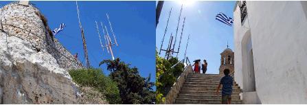 頂上への最後の階段