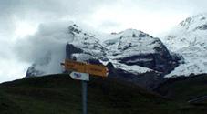 スイストレッキングを楽しむ子供達