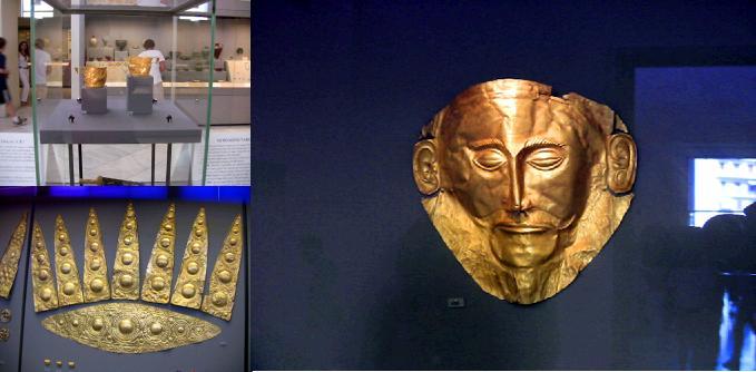 アガメムノンのマスク
