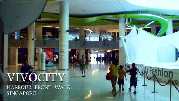ビボシティを歩く子供たち