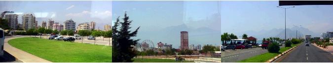 アンタルヤの市街