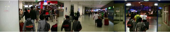 アテネ空港の到着ロビー