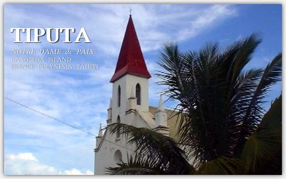 ティプタ村の教会