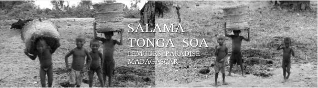 アイアイが住む南の島、マダガスカルの子ども達