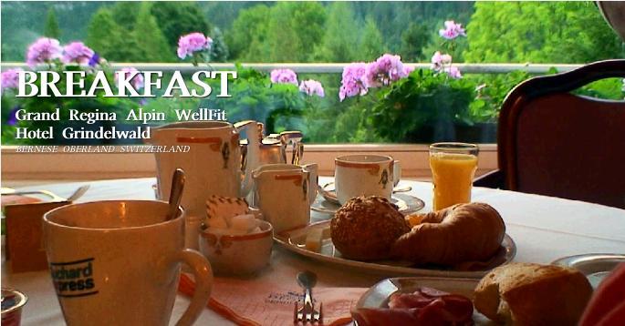 グランドレジーナホテルの朝食