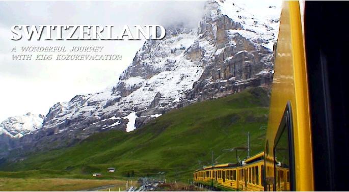 スイスの登山鉄道の写真