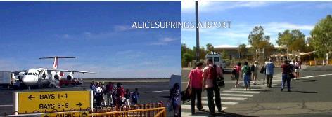 アリススプリングス空港