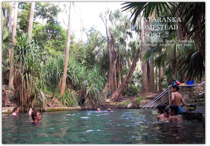 熱帯雨林の中のマタランカ風呂