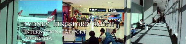 シドニー国際空港に到着