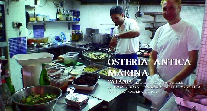 アンティカマリーナの厨房