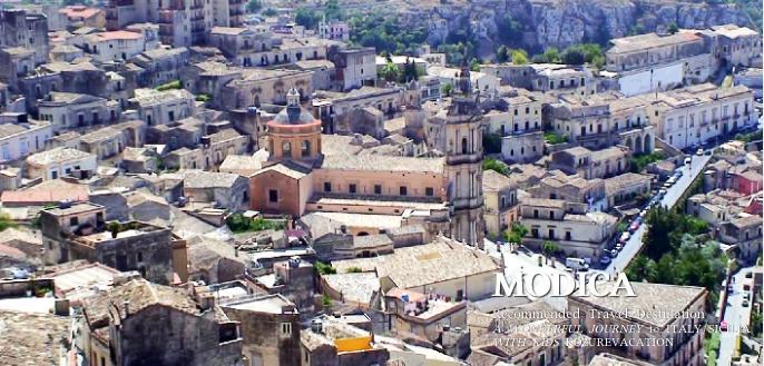 モディカの町とサン・ジョルジョ大聖堂