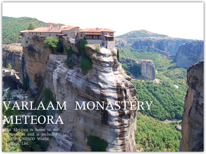 世界遺産メテオラのヴァルラアム修道院