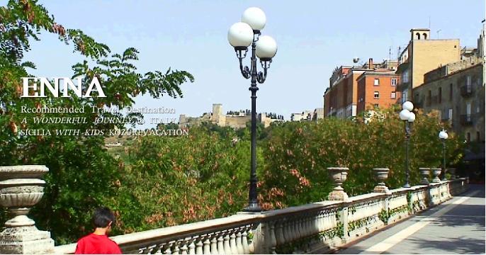イタリアの最高所県庁所在都市エンナ