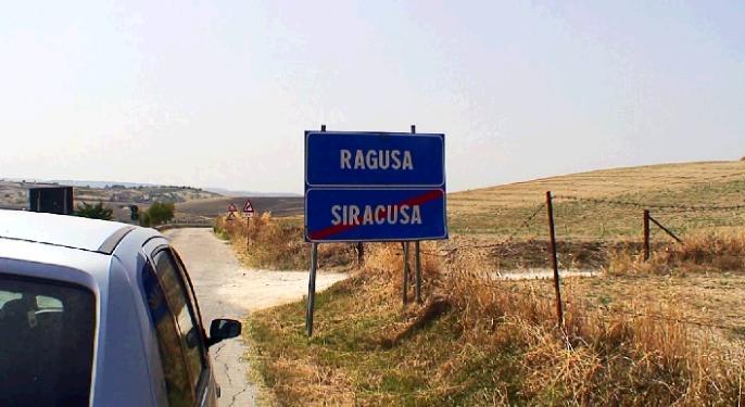 ラグーサへのドライブ