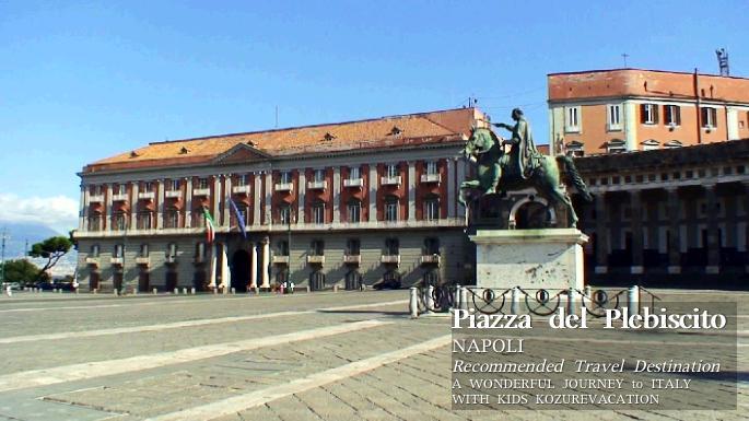 プレビシート広場の騎馬像