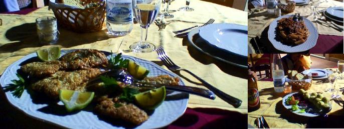シチリア島南部の伝統料理の写真