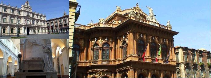 カターニアの歴史的建造物群