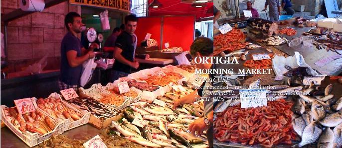 朝市の魚売り場