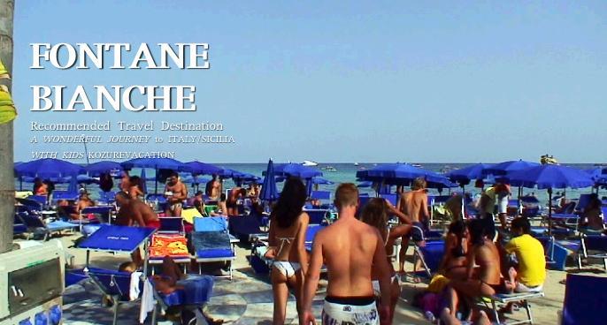 海水浴客で賑わうビーチ